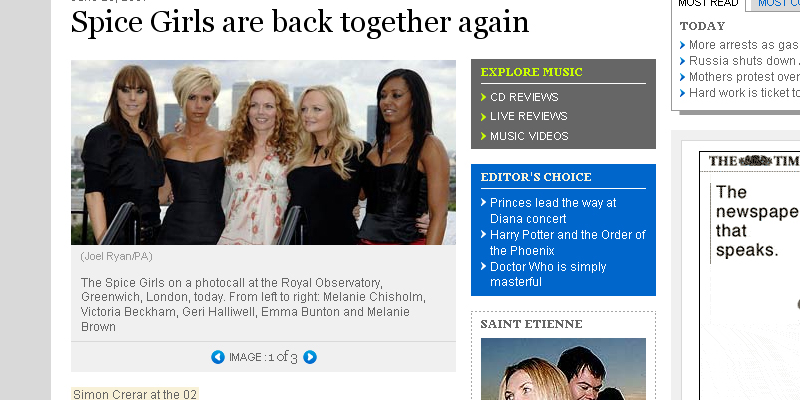 Spice Girls are back together again